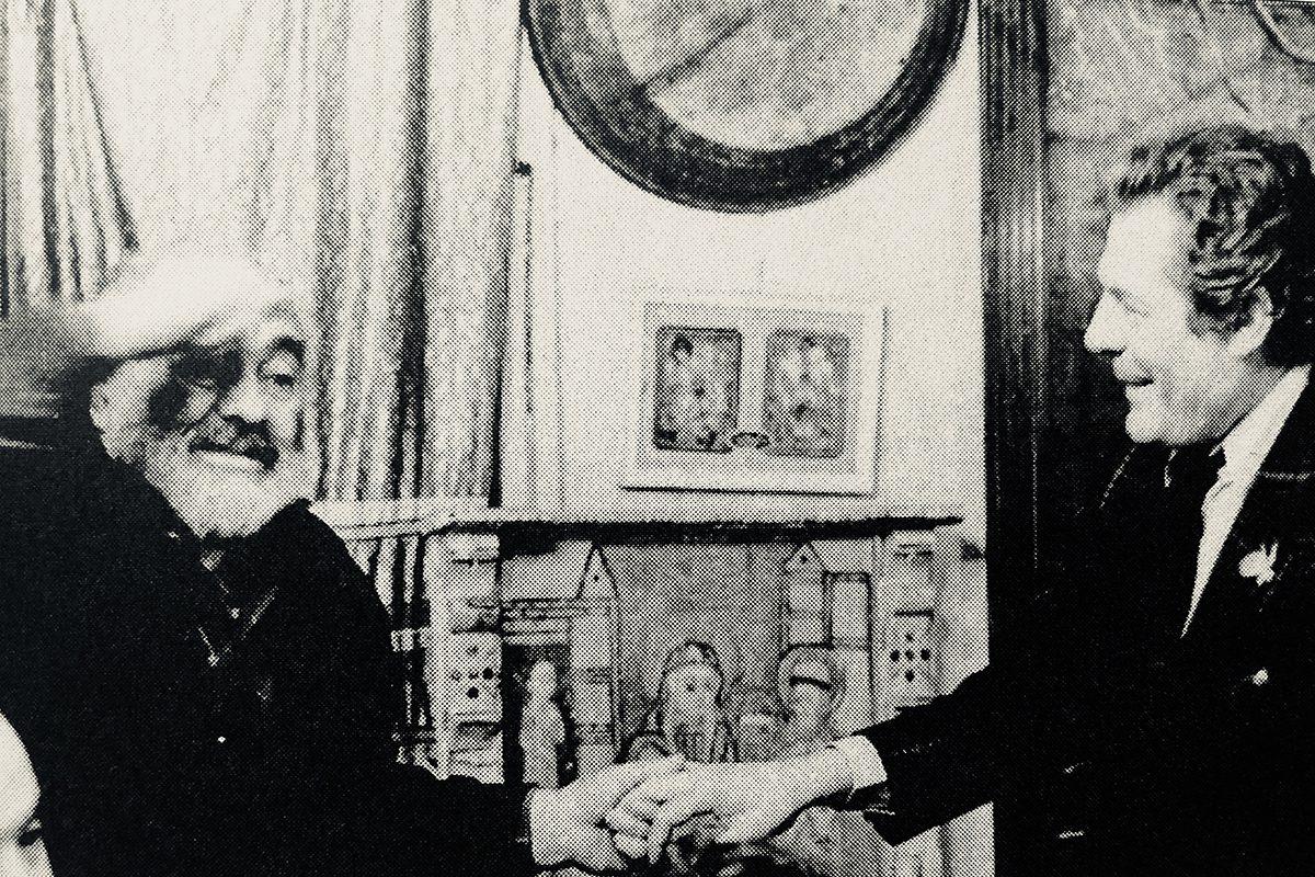 Сергей Параджанов и Марчелло Мастрояни | Fellini — ваш проводник в мире кино.