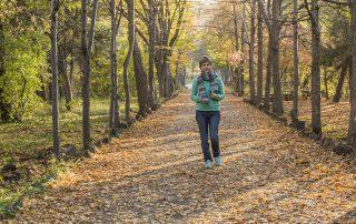 Октябрь. Прогулка в парке
