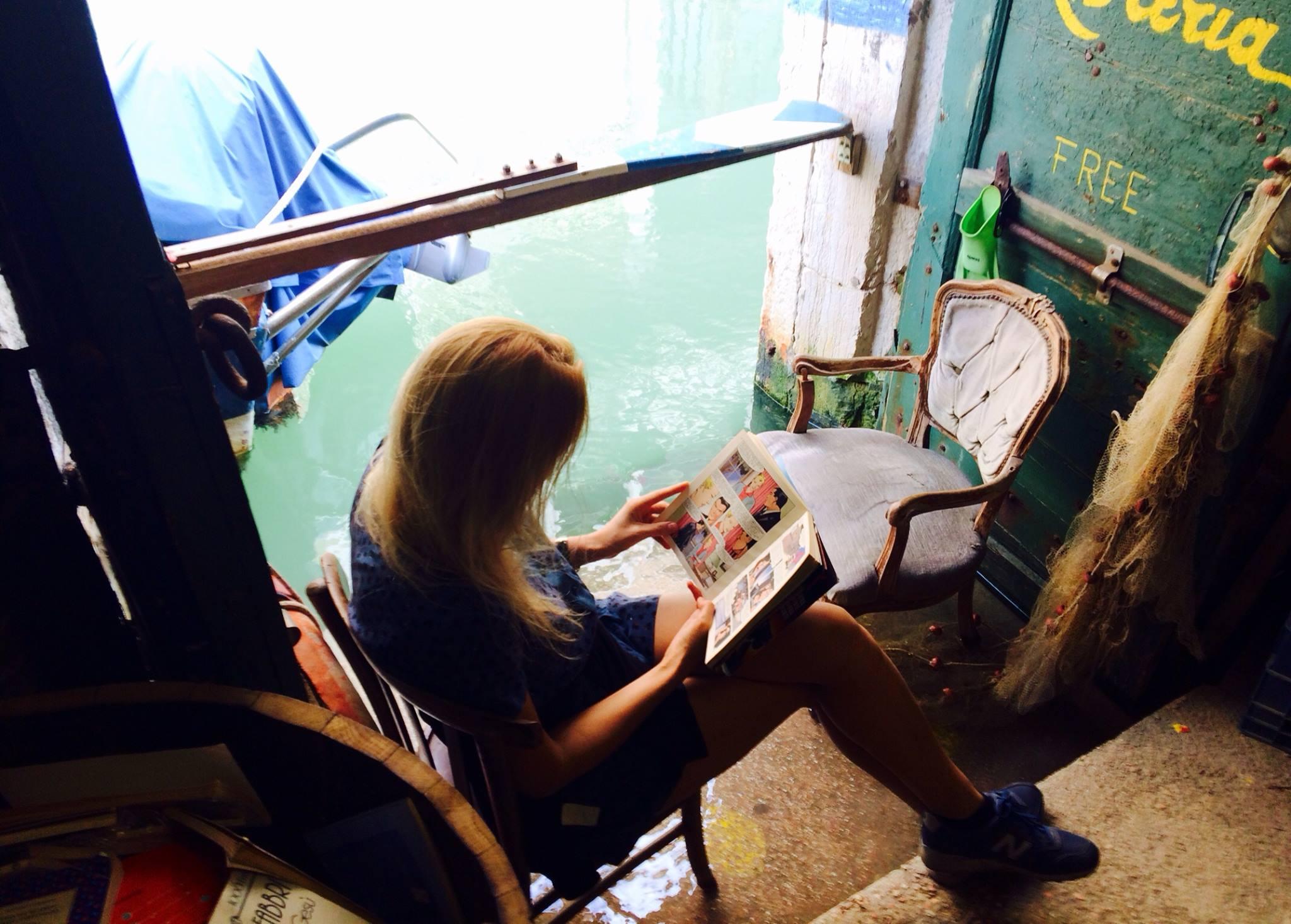 Оксана Карас в Венеции