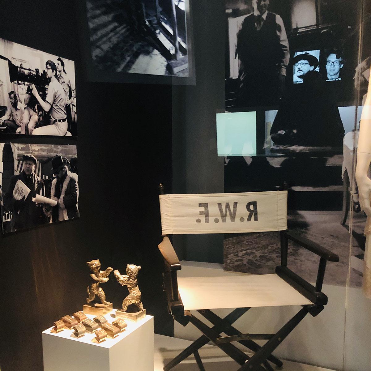 Режиссерское кресло Фассбиндера