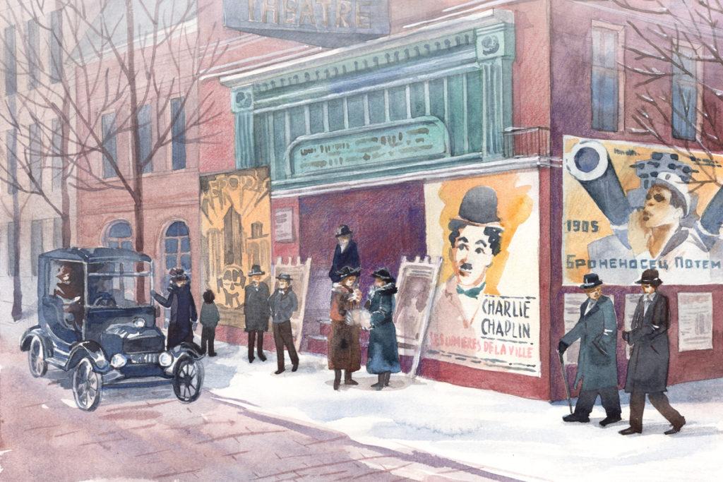 Кинематограф 20-х годов. Иллюстрация из курса по истории кино «КиноОдиссея»