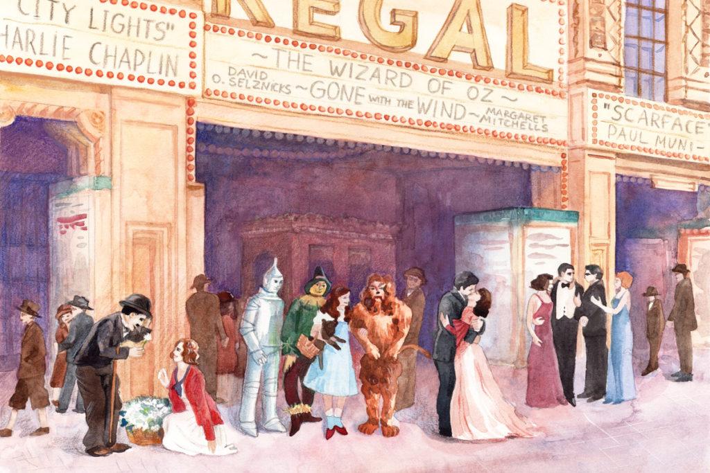 Кинематограф 30-х годов. Иллюстрация из курса по истории кино «КиноОдиссея»