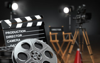 Съемки кино